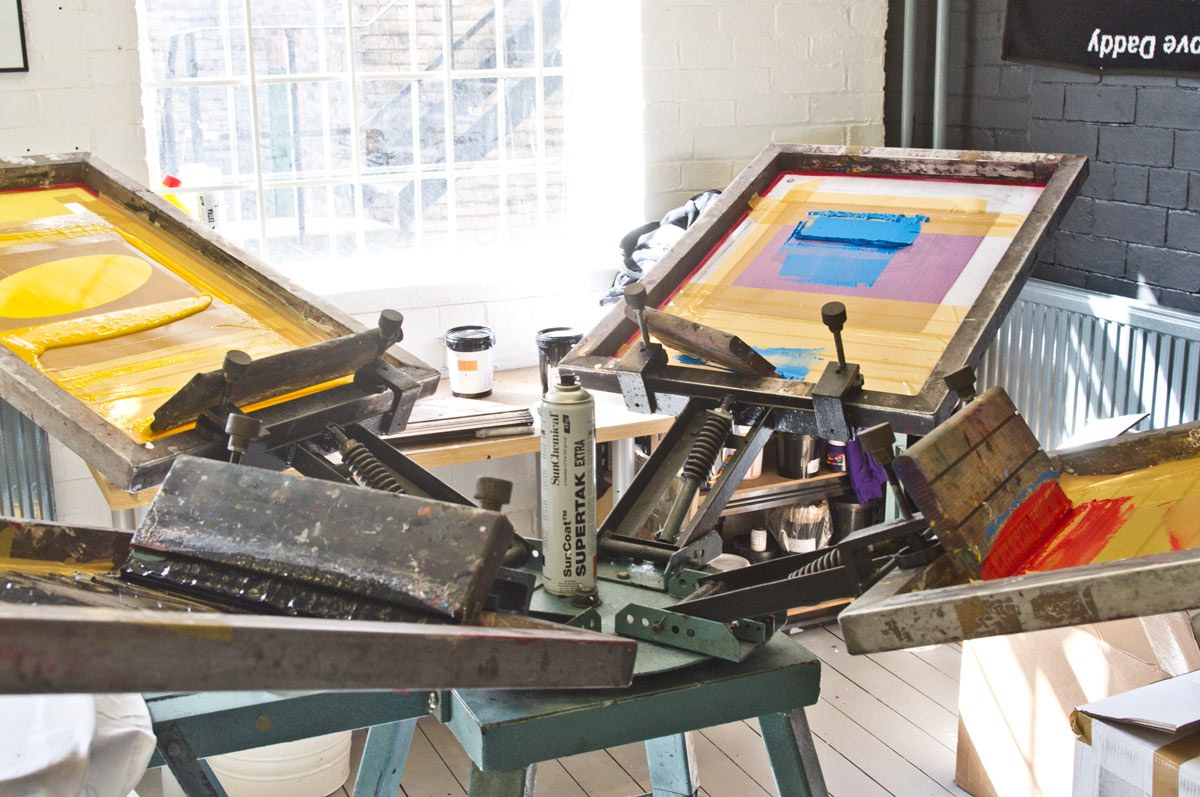 Printshop Screen Printing - Services